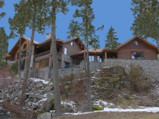 STUNNING HOME AT ANGEL POINT ON FLATHEAD LAKE - Lakeside vacation rentals