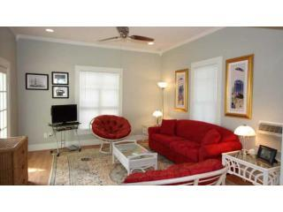 Alister Cottage Living Room - Tranquil Tide - Port Aransas - rentals