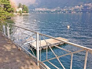 Liberty Villa with private docks for boats. - Laglio vacation rentals