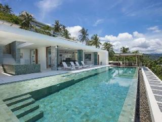 Lime Samui 4 - Beautiful Villa Located Cliffside with Coastal Views, Pool & Gym - Nathon vacation rentals