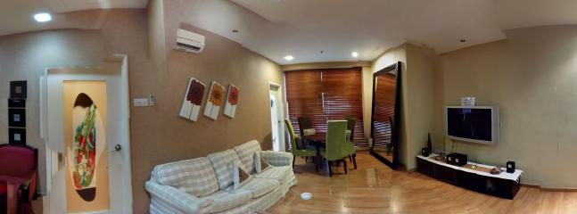 Living and dinning hall - Parkview @ Kuala Lumpur city centre , twins tower - Gunung Mulu National Park - rentals