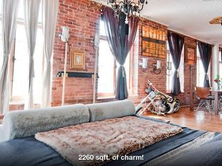 LUXURY DESIGNER LOFT SUPER CENTRAL OLD MONTREAL - Montreal vacation rentals