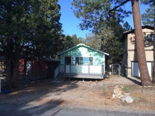 Front of cabin - 2BR / 1Ba 780 ft. furnished cabin, Sleeps 7 in Sugarloaf near Big Bear - Sugarloaf - rentals