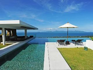 Striking hillside Villa Blue View with sophisticated infinity pool & private chef - Mae Nam vacation rentals