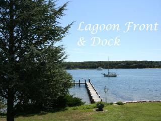 SYLVM - Waterfront, Private Dock, Large Private Yard, WiFi, Central A/C - Vineyard Haven vacation rentals