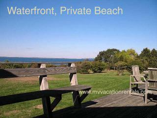 ABBON - North Shore Waterfront, Private Beach, Magnificent Views, Wifi, Room A/C - West Tisbury vacation rentals