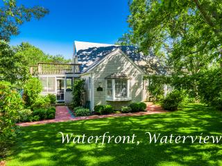 PETEV - Waterfront Private Family Oriented Community, Gorgeous Water Views, Private Association Tennis Courts, AC, Wi-fi, Bike P - Martha's Vineyard vacation rentals