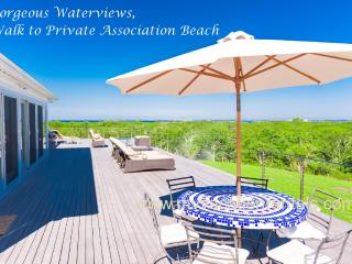REIDM - Makonikey with Panoramic Water Views, Walk to Private Association Beach, Breathtaking Sunsets - West Tisbury vacation rentals
