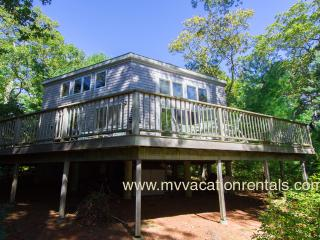 SCHEB - Waterfront on Ice House Pond (Old House Pond),  Swim, Kayak, Spacious Deck with Lovely Views. 15 Minute Walk or 3 Min Dr - West Tisbury vacation rentals