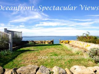 FULEC - Seven Gates, Extraordinary Ocean Front Home, One of a Kind Location, Private Beach and Association Beaches and Tennis, W - West Tisbury vacation rentals