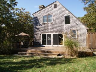 RIORE - Close to Edgartown Center and Beaches,  Bike Paths 2/10 mile from house, Large and Private Deck, WiFi, AC in Bedrooms - Martha's Vineyard vacation rentals