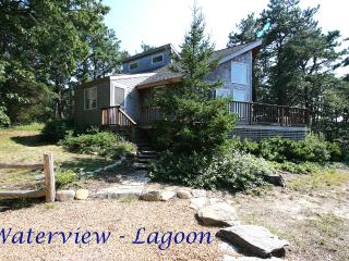 RUTHW - Lagoon Waterview, Central AC,  200 Yards to Private Assoc Lagoon Beach, Swim and Kayak - Oak Bluffs vacation rentals