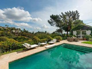 Amazing Hollywood Hills Estate offers a fireplace, heated pool and housekeeping - Los Angeles vacation rentals
