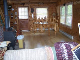 Log cabin near Stratton Vermont - Jamaica vacation rentals