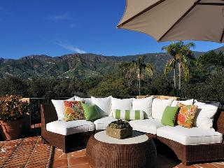 Spa-like home in Montecito with ocean views, hot tub, and sauna - Knolltop Estate - Santa Barbara County vacation rentals