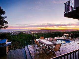Large Riviera home with A/C & ocean view deck with hot tub - Sunset Heights - Santa Barbara County vacation rentals