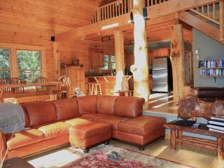 The Stereotype of luxury log cabin - McCall vacation rentals