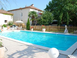 Magnificent  Manor House with a large heated private pool (Fully catered / option) - Saint-Victor vacation rentals