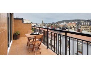 Salud Terrace | Terrace, in the city centre - San Sebastian - Donostia vacation rentals