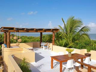 Mayan Riviera Villa 47 Contemporary Mayan Luxury With 100 Meters Of Breathtaking Private Beach Front. - Terres Basses vacation rentals