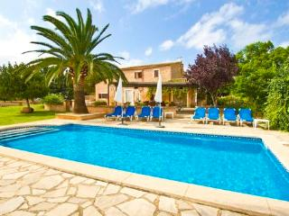 Villa with sea and mountain view for 8  people at the Calas de Majorca - ES-1078431-Cala de Mallorca - Manacor vacation rentals