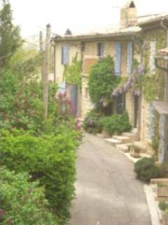 Street view - Cottage Holidays in a Romantic Provence Village - Cucuron - rentals