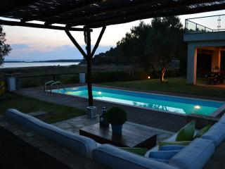 AZAPIKO VILLA BEACHFRONT LUXURY HOUSE - Macedonia Region vacation rentals
