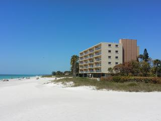 On The Beach.Completely renovated in 2014. Sale! - Longboat Key vacation rentals