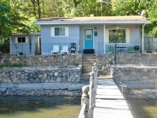 Lakefront Cottage at 11 Mile Marker No Wake Cove - Sunrise Beach vacation rentals