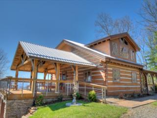 Skyline Log Cabin at Reems Creek - Weaverville Cabin Rentals - Weaverville vacation rentals