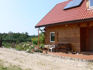 Wooden house close to the lake, deep forest - Northern Poland vacation rentals