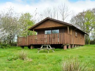 BEECH LODGE, eco lodge on attractive farm, wildlife ponds, WiFi, stunning walks, Winkleigh Ref 905860 - Winkleigh vacation rentals