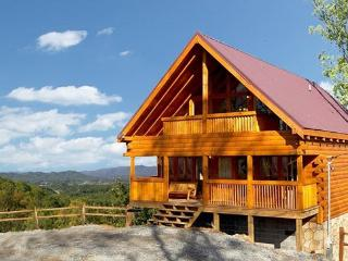 2 Bedroom, 2 Bathroom Log Cabin with Beautiful Mountain Views and Game Room - Sevierville vacation rentals