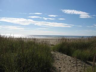 Ocean Front Beach Cabin & Private Trail to Beach - Ocean Shores vacation rentals