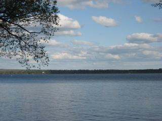 Beautiful level sand beach on Lac Courte Oreilles - Wisconsin vacation rentals