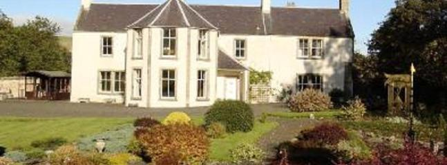 Glebe House front view - Large Self Catering Scottish Borders Vacation Home - Kelso - rentals