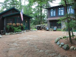 Atateka Point Lodge and Treehouse Guest Cottage just steps from Friends Lake with a Hot Tub and Spectacular Views - Adirondacks vacation rentals