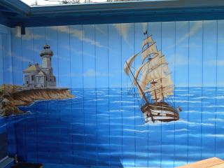 Mural cabin on the coast. - Coos Bay vacation rentals