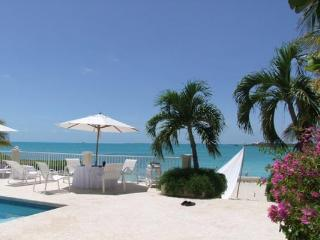Nestled at the very tip of Provo's Ocean Point, between Taylor's Beach, Sunset Bay and Sapodilla Bay, this villa ha trul - Turks and Caicos vacation rentals