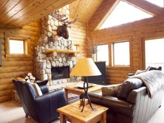 3BR Mountain Cabin - Skier and Golfer Paradise, Private, Sleeps 8, Wood Burning Fireplace - Boyne Falls vacation rentals
