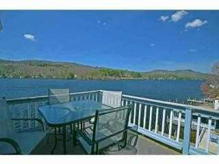 DISCOUNTED - WATERFRONT PENTHOUSE ON LAKE WINNIPESAUKEE - PRIVATE BEACH & BOAT DOCK - Alton Bay vacation rentals