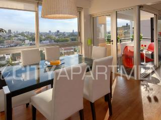 GYM & POOL 2 BEDROOM/ 2 BATH (PT2) GREAT VIEWS FROM THE 7TH FLOOR! - Capital Federal District vacation rentals