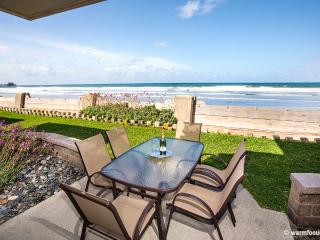 Ultimate Beach Front Cottage~Oceanfront Patio & Yard! - San Diego County vacation rentals