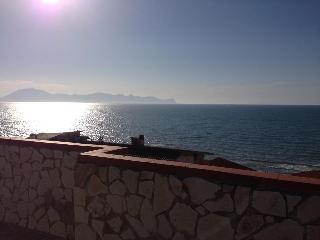 Fantastic Panorama , 3rd floor apt. in Trappeto - Trappeto vacation rentals