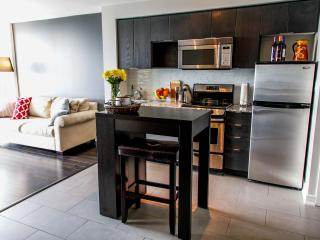 Stylish 1 Bedroom + Den in downtown Toronto with gorgeous view of the lake! - Toronto vacation rentals