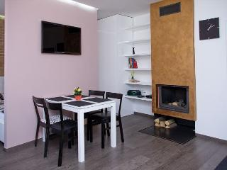 Your design 1 BR apartment with a romantic fireplace in Prague's Old Town! - Prague vacation rentals