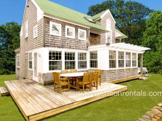 HUTKC - Well Known Architect's Summer Home, Designer Details Throughout, Large Private Yard and Deck - West Tisbury vacation rentals