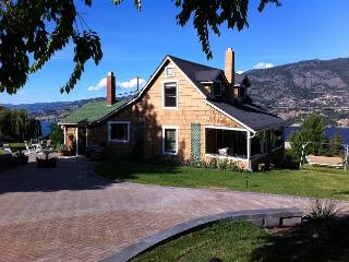 View property over looking Skaha Lake in Kaleden, 10 km south of Penticton - Okanagan Valley vacation rentals