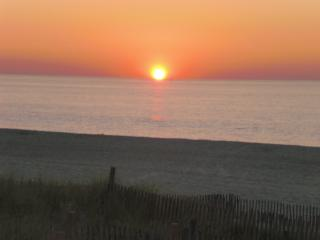 Beachfront living - your morning view... - Point Pleasant Beach vacation rentals