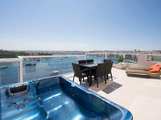 073 Amazing Views Seafront 3-bedroom Penthouse - Sliema vacation rentals